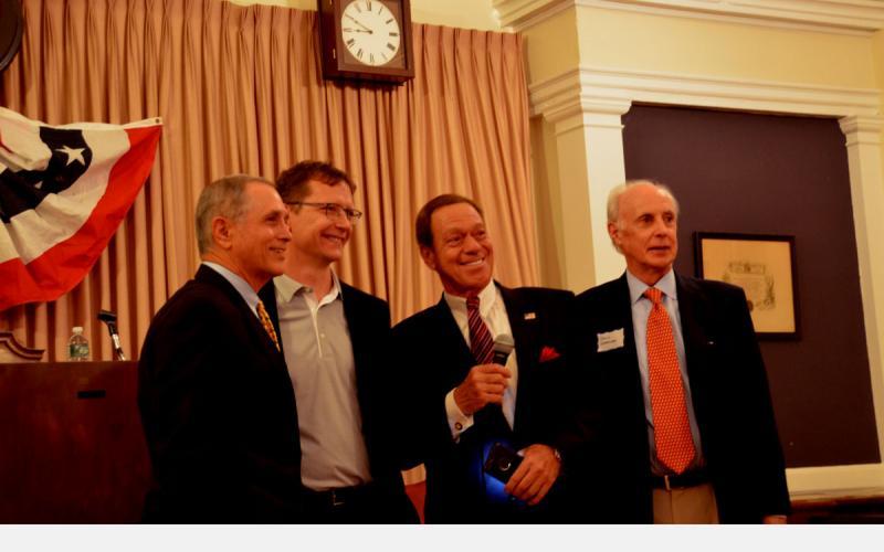 Madison NJ GOP candidates with Joe Piscopo