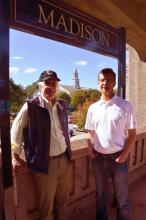 2017 Republican Candidates for Madison, NJ Borough Council Denis Schreiber and Ron Hendrickson